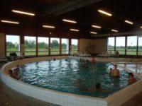 Meleg vizes ülőfürdő, 100cm, 35°C